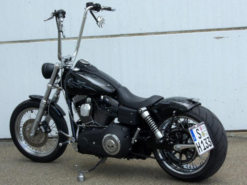 Harley Davidson Dyna Streetbob Ape Hangers