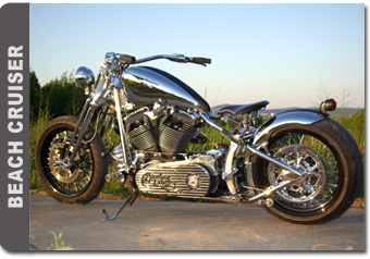 Beach Cruiser Harley Davidson Softail