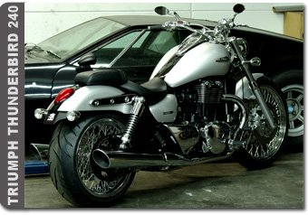Triumph Thunderbird Storm >> Dr. MECHANIK - high-end-customizing