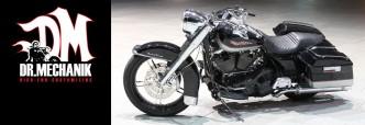 Dr. Mechanik ELEGANCE 124 S&S Harley Davidson flt Road King Umbau